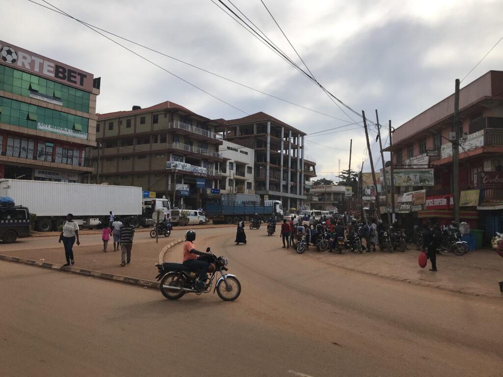 Mukono streets